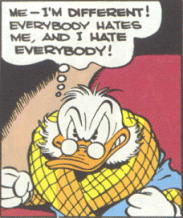 First appearance of Scrooge McDuck (FC 178/2)